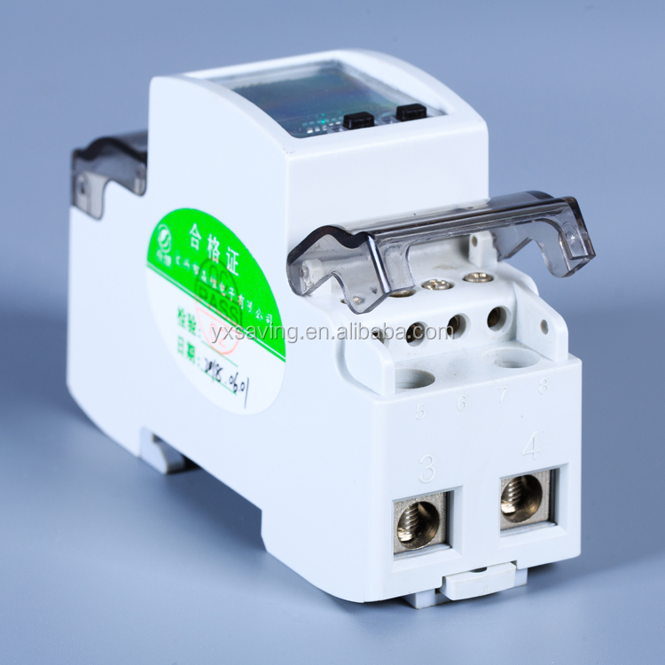 NEW Type 5(60)A 220V 2P Single-Phase Energy Meter Smart Electric Meters with RS485 communication China Factory