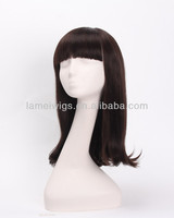 2014 fashion synthetic fiber wig japan long black synthetic wigs wholesales from factory SK 2016