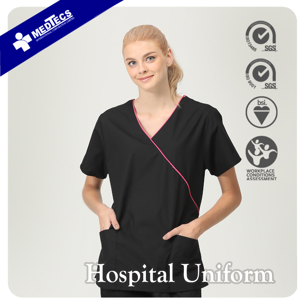 Fashionable Nurse Uniform Designs Custom Nurse Scrub Suit Design