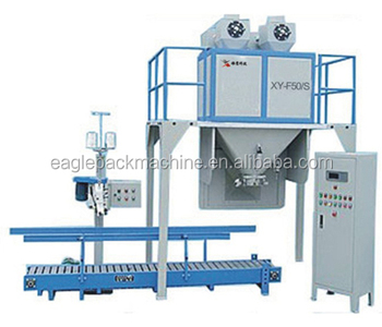semi automatic flour baling machine