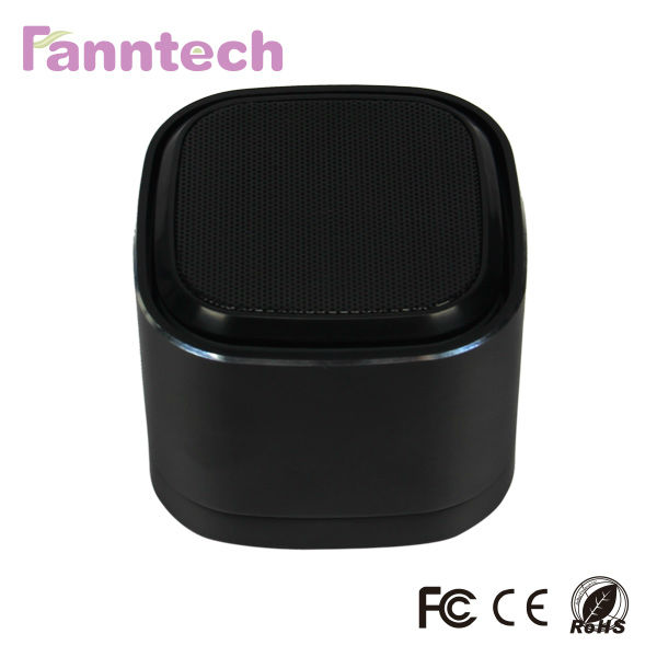 Wireless Atomic Speakers with LED for Smartphone and Tablet PC