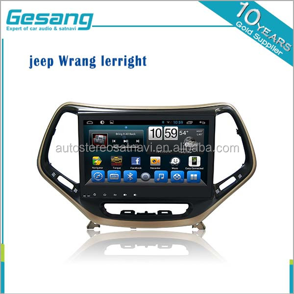 Android 6.0 Capacitive Touch Screen Car DVD Player GPS for jeep Wrang/lerright with WIFI 3g