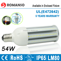 light bulbs led corn 54w E27 E40 corn cob led ring bulb