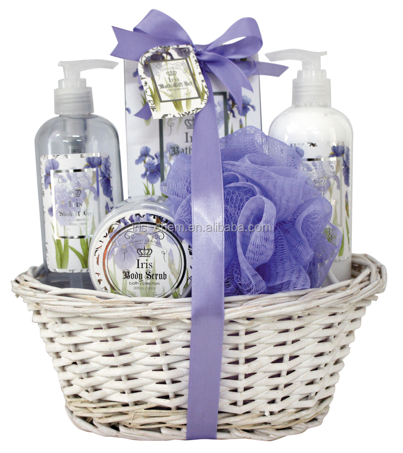 New arrival Basket bath gift set certificated by walmart sedex