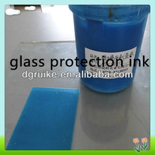 ITO protection glue and glass protection ink for electronic touch screen