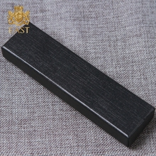 Luxury High-End Black Gift Packing Single Ink Cardboard Pen Box