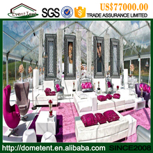Indian style luxury decoration marquee wedding party tent for marriage
