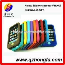Silicone case for iPhone 4/phone cover/mobile phone cover