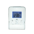 White Desk Digital Timer Clock