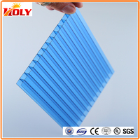 best lexan polycarbonate sheet price PC16 pc honeycomb sheet polycarbonate hollow sheet for roof