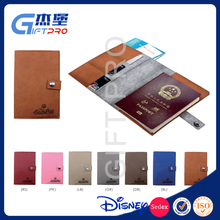 Leather Passport Cover Premium Leather Wallet Case for Passport Credit Card ID Card Good Business Travel Stuff