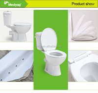 factory ECO design CE approved cheap ceramic wc toilets bowls p trap 180mm s trap 220mm MFZ-06C/D for Europe Africa market