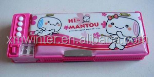 2016 New Design for Two Compartments Pencil Case
