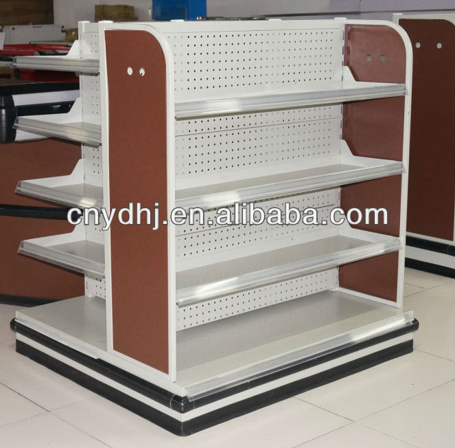 Metal Supermarket Chewing Gum Candy Display Shelf