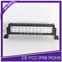 "China manufacturer 13.5"" 72w waterproof 12v 4x4 led light bar for honda crv Jeep offroad truck"