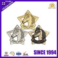 2016 Folk art Horse Logo Custom Metal Medal
