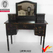 antique european style mirror dressing table