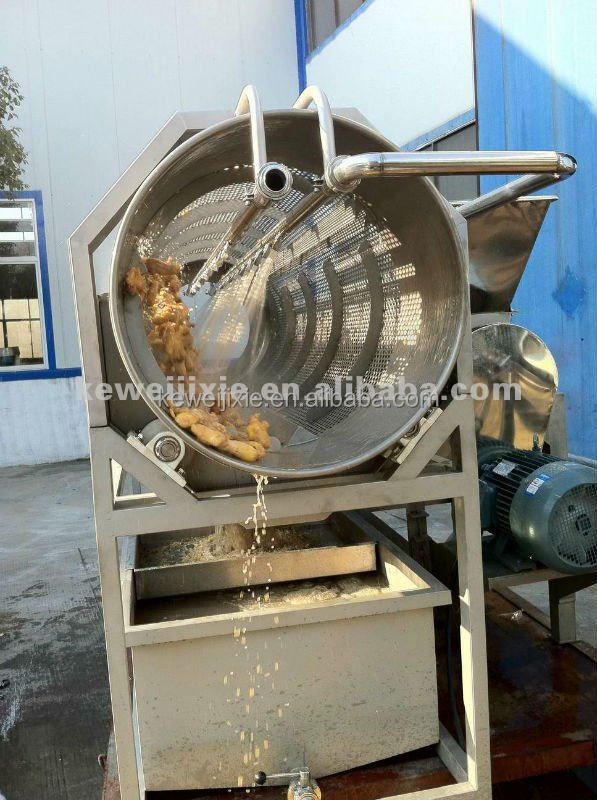 ZXJ high pressure ginger washer