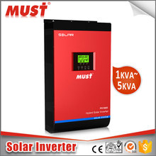 MUST 4KVA to 15KVA DC to AC Pure Sine Wave Singe Three Phase grid tie inverter