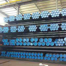 Black Coating Surface ASTM seamless carbon steel pipe