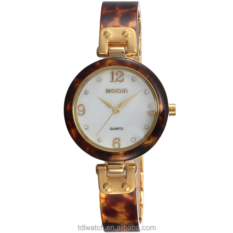 trendy design vogue weiqin w4800 female amber watches