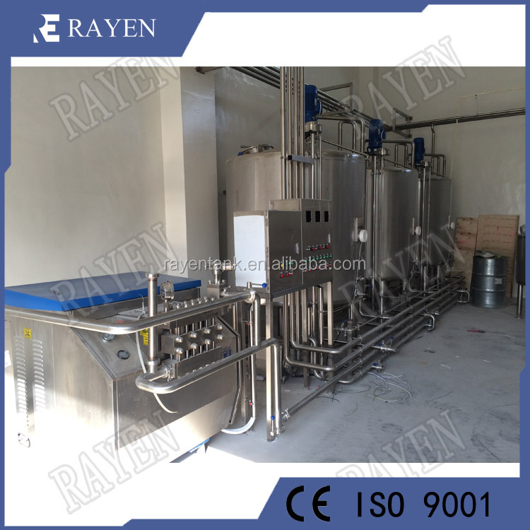SUS304 or 316L stainless steel process of milk production dairy equipment and machinery