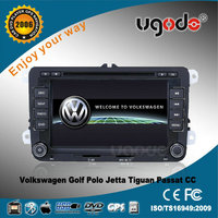 SALES PROMOTION! UGO free shipping VW Car Radio built-in GPS/DVD/Car Stereo/TV