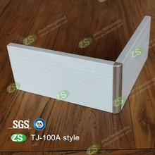 Black baseboard,aluminum skirting board plinth