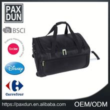 Wholesale Cheap New Arrival Fancy Design Polyester Waterproof Wheeled Duffle Bag