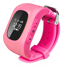 Live positon tracking waterproof Q50 kids gps watch, voice calling oem brand gps watch kids