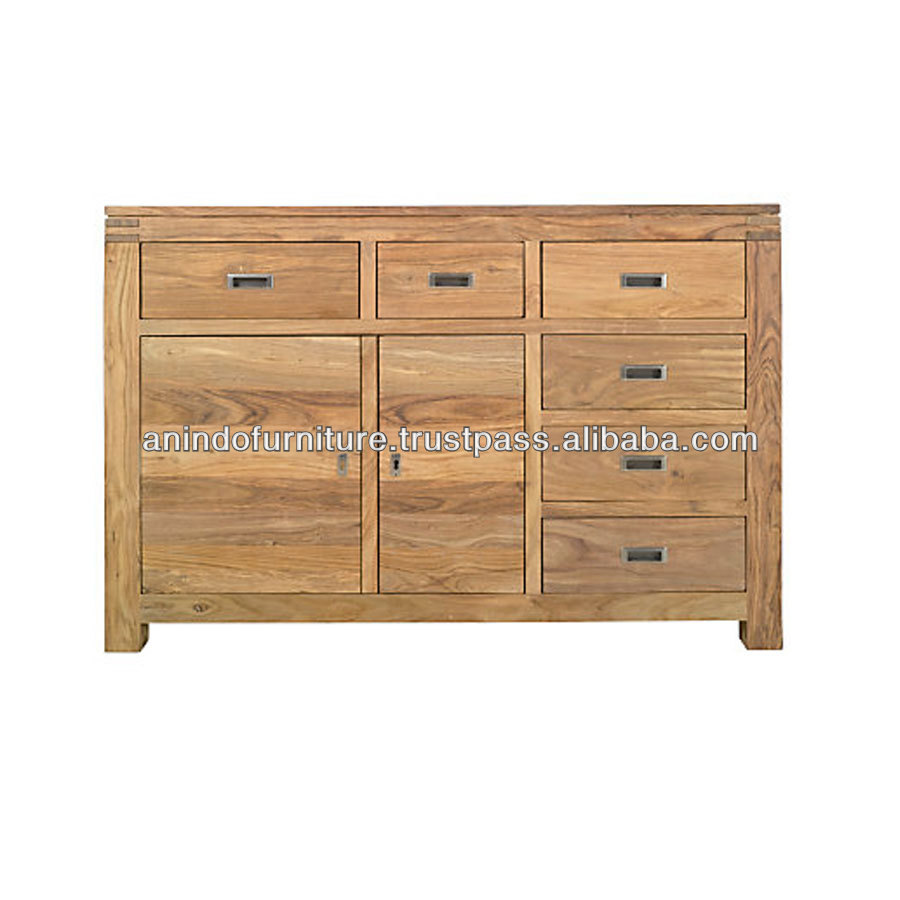 PSB Series Large Buffet with Doors and Drawers