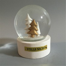 Christmas snow globe resin snow ball