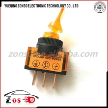 orange color toggle switch