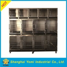 Cheap chain link dog kennels stainless steel dog cage