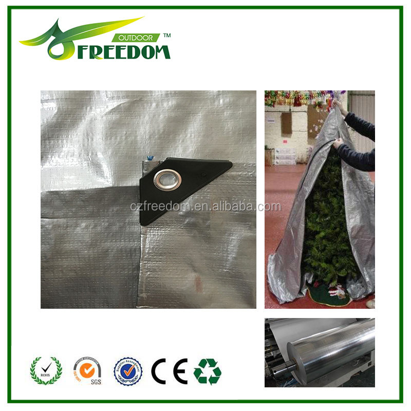 PE Tarpaulin Type outdoor waterproof christmas tree cover