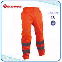 High Visibility Pants Work Cotton Men Trousers New Design Models