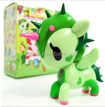 OEM Roto casting Vinyl Toys Unicorn/Plastic Vinyl Animal Collectible doll toy/OEM Mini Vinyl Toys Factory in China
