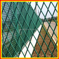 galvanized expanded metal fence for outdoor dog fence/dog run fence/large dog fence