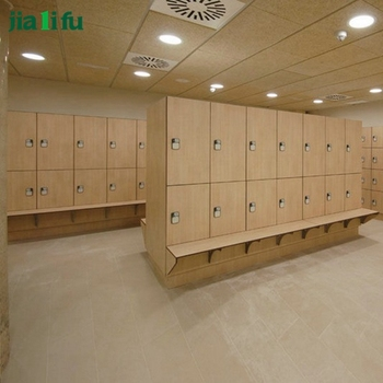 Jialifu hot sale waterproof used hpl wood locker