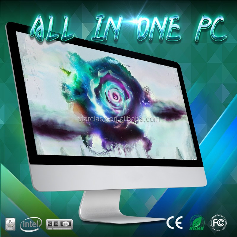 "All in one pc- 23.6"" Portable All-In-One - Intel I3 - 4GB Memory - 500GB Hard Drive -silver"