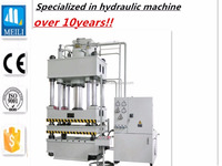 Double Acting hydraulic oil press machine
