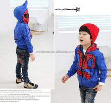 spider man children boy hoodies baby boy winter clothes