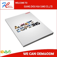 Colorful traveling leaflets/full color brochure printing