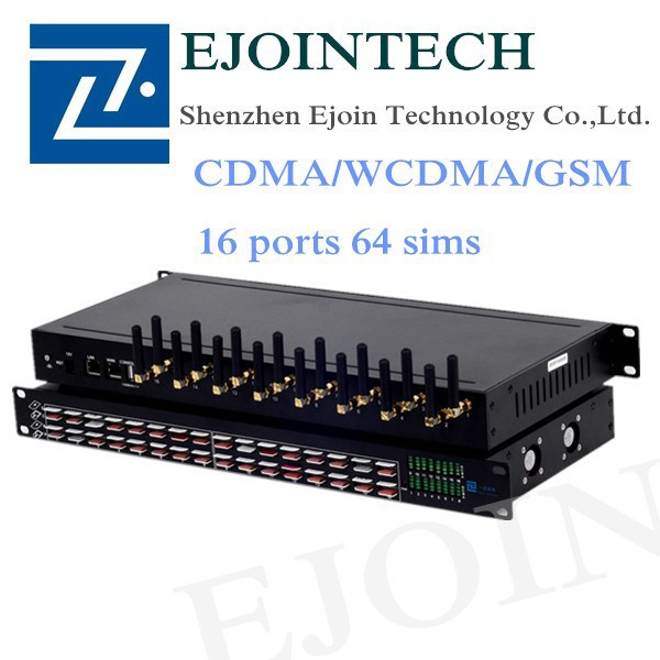 Configuration Backup and Restore WCDMA/CDMA/GSM 16 Ports Gsm Voip goip Gateway Sms gateway