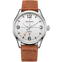 New 2017 Popular Men Top 10 Wrist Watch Brands Curren Watch Men Military Watches Saat