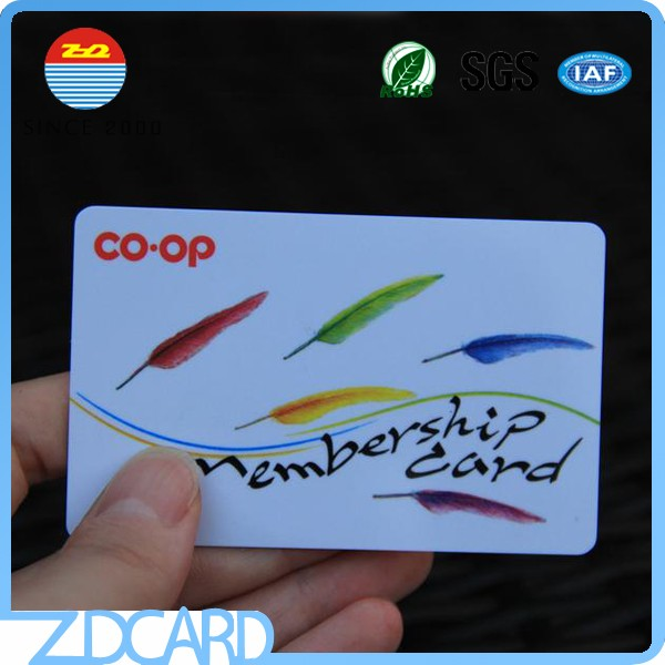 Programmable rfid s70 pvc card free sample