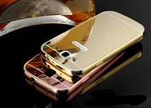 Luxury Metal Air Aluminum Bumper Detachable Mirror Hard Back Case 2 in 1 cover Ultra-Thin Frame Case For Samsung Galaxy S3