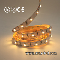 UL Listed Nonwaterproof 18LED 126LM Per Foot 16.4FT Roll 90RA CRI 1.44W/FT 12V 3000K 3528 Warm White flexible SMD LED Strip