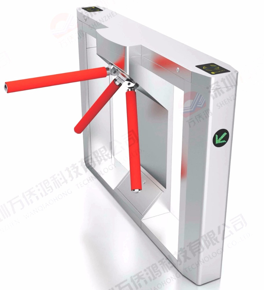 Intelligent Fingerprint Auto Speed Gate Turnstile Bi Directional Entry Turnstiles