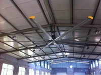 air cooling products alumium metal blades ceiling fan HVLS ceiling fan